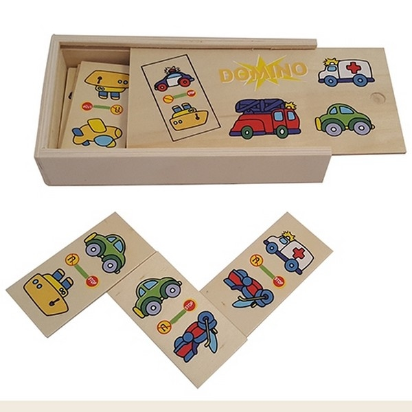Domino vervoer 28-delig - Playwood, uitverkocht