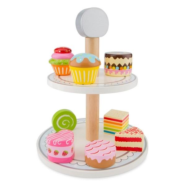 Etagère met cakejes - New Classic Toys
