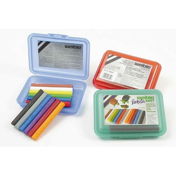 Fantasia Kneedwas Klikbox Mini Rol 12 kleuren