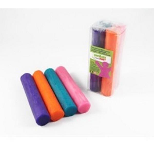 Fantasia Kneedwas Rol 4 kleuren totaal 400 gram, uitverkocht