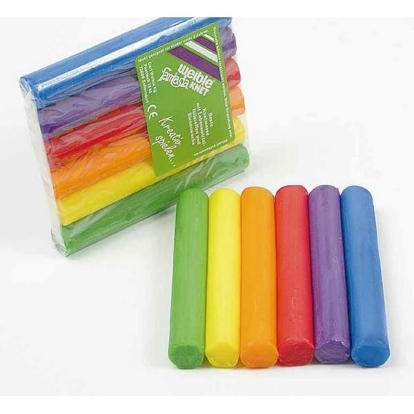 Fantasia Kneedwas Rol 6 kleuren totaal 150 gram