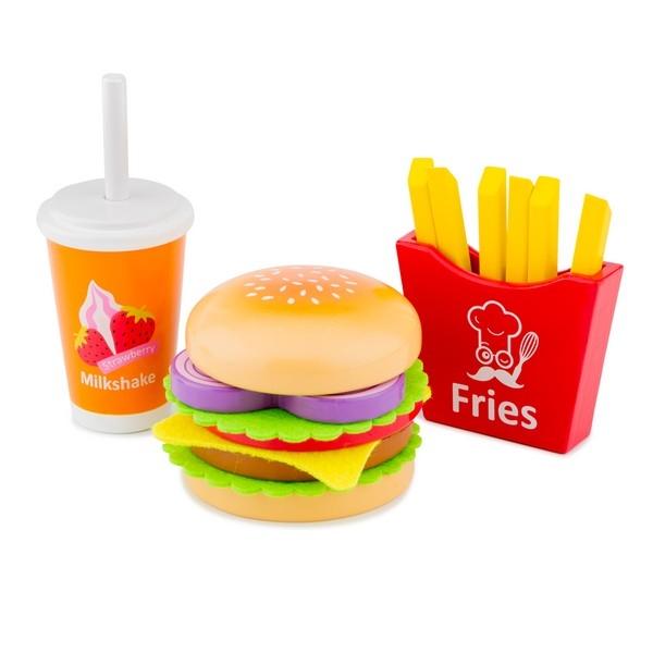 Fast food set - New Classic Toys