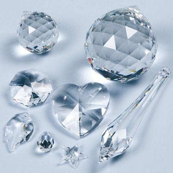 Feng Shui Kristal - Druppel 38x16mm