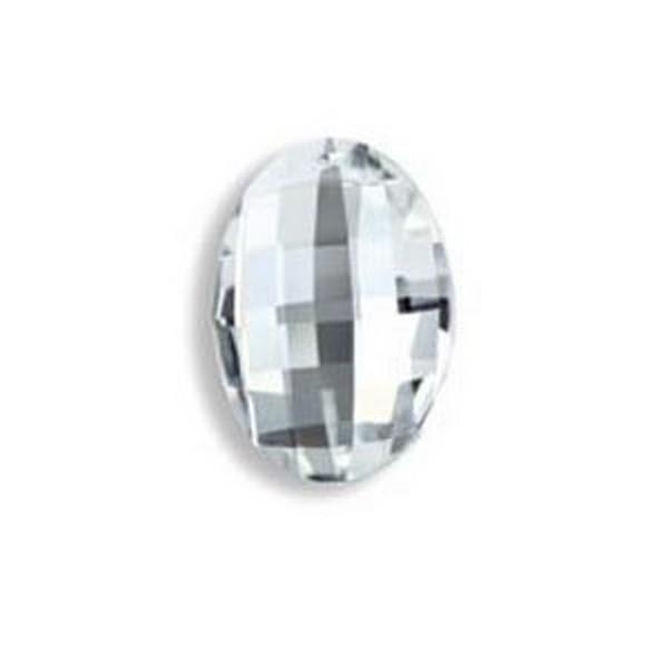 Feng Shui Kristal - Ovaal Breed 32x23mm