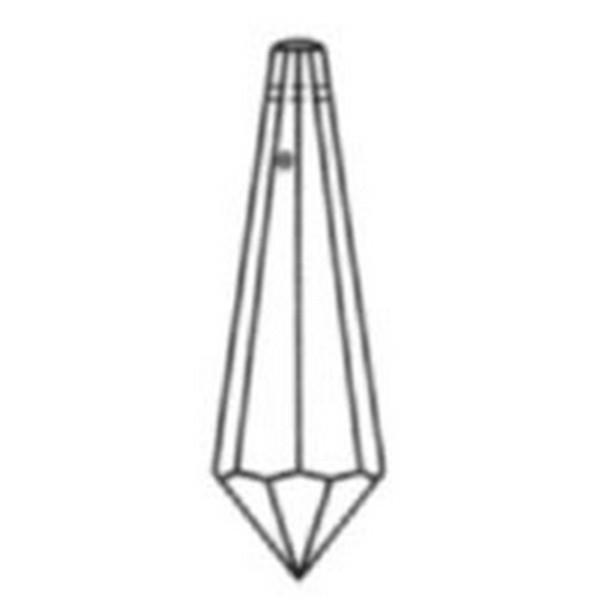 Feng Shui Kristal - Pegel 40x11mm