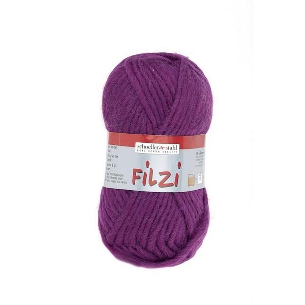 Filzi 100% viltwol 50 gram / bol kleur 016 cassis