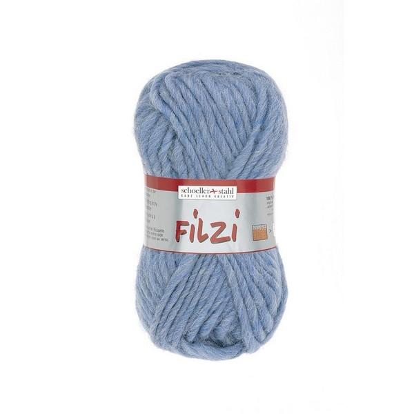 Filzi 100% viltwol 50 gram / bol kleur 038 jeans blauw
