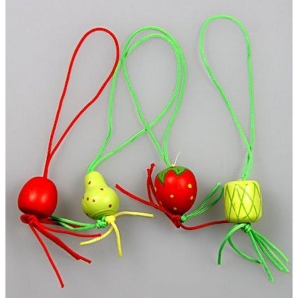 Gelukspoppetjes Fruit klein 4 assorti 100 stuks (14039)