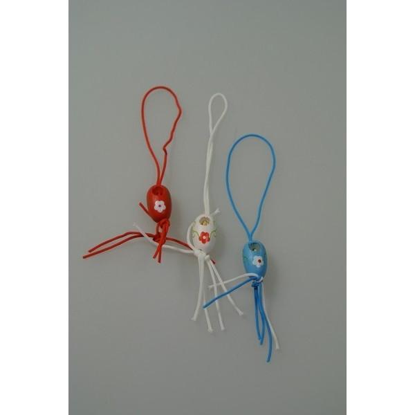 Gelukspoppetjes Klompen rood-wit-blauw (14090)