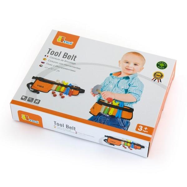 Gereedschapsriem - 10 delig - Viga Toys