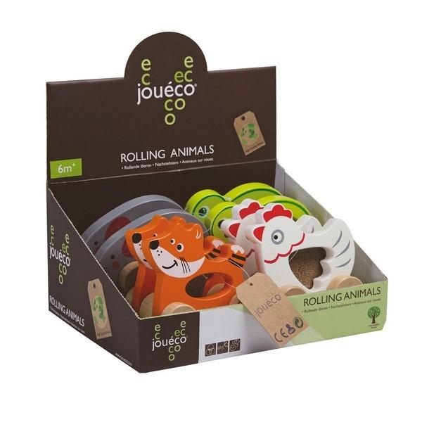 Grijpauto Rollende dieren - Jouéco