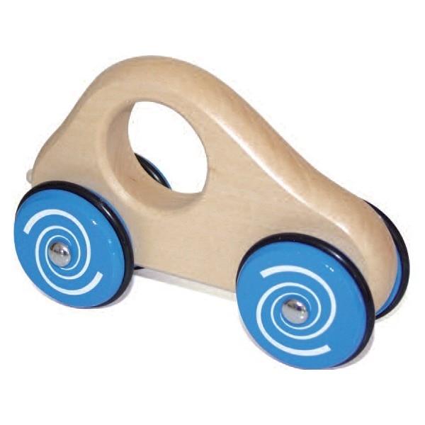 Handauto beukenhout Blauw