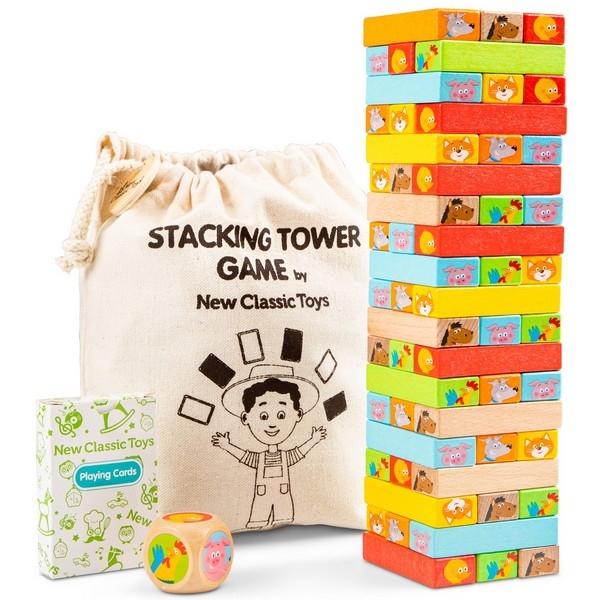 Houten Blokken Toren - New Classic Toys