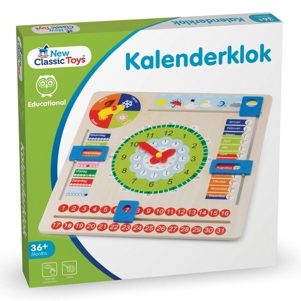 Kalenderklok NL, groot