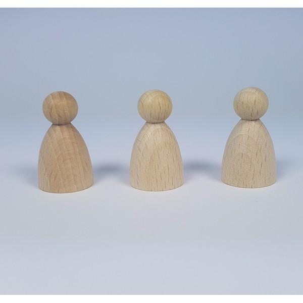 Kegelpoppetje - Bol 30x18 mm