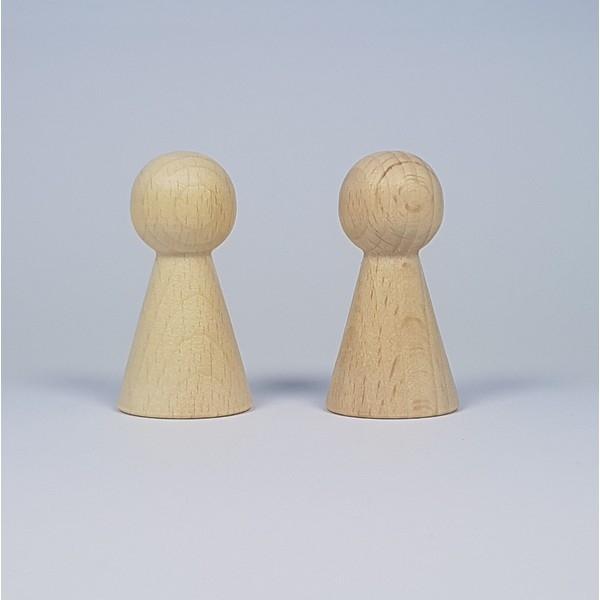 Kegelpoppetje - Breed 50x25 mm
