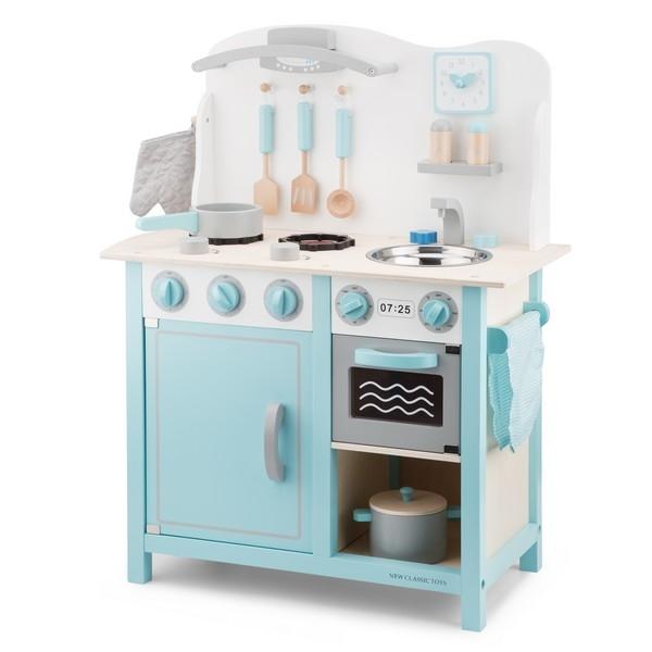 Keuken - Bon Appetit - DeLuxe - Blauw - New Classic Toys