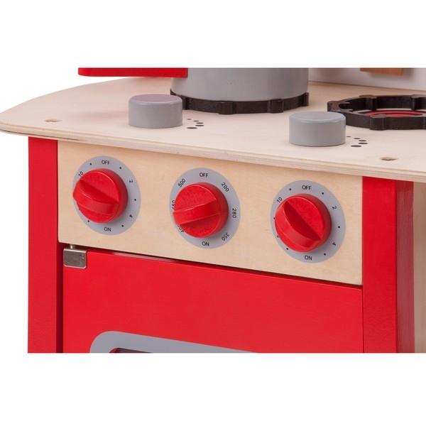 Keuken - Bon Appetit - Rood - New Classic Toys