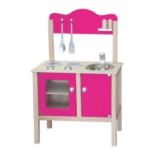Keukenblok Fuchsia incl. accessoires   op=op