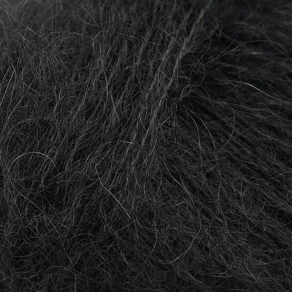 Kid Silk 25 gram / 225 mtr per bol - kleur 02 Zwart