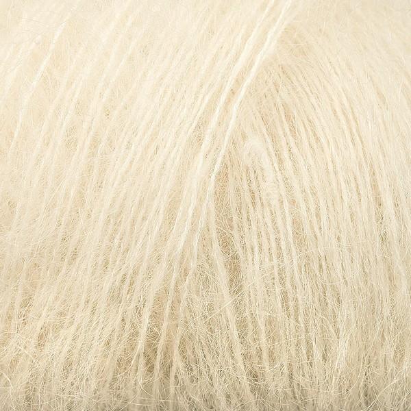 Kid Silk 25 gram / 225 mtr per bol - kleur 10 Gebroken Wit