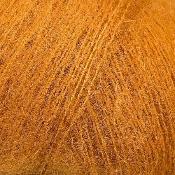 Kid Silk 25 gram / 225 mtr per bol - kleur 26 Donker Geel