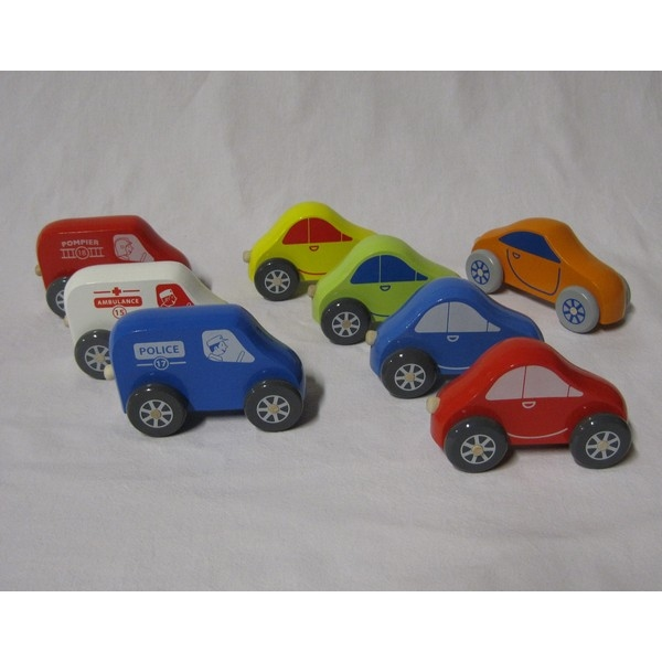 Kleine auto (beukenhout)