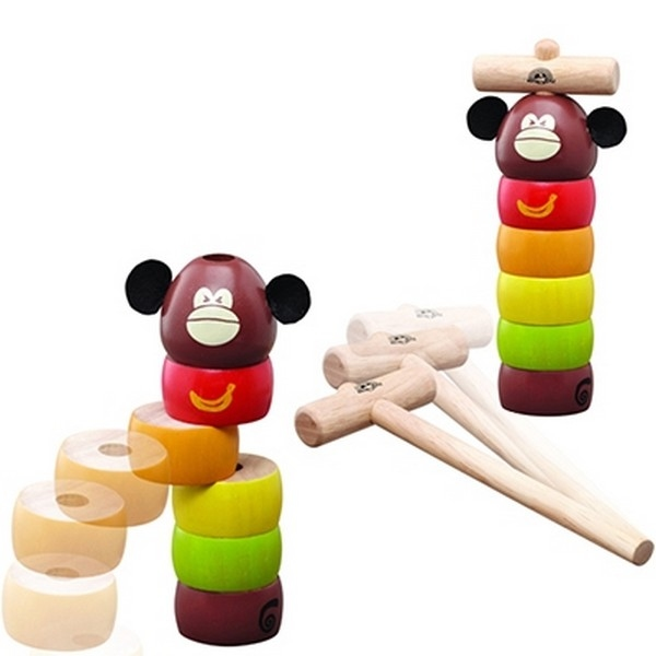 Knock out monkey - Wonderworld 1020