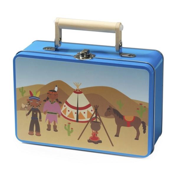 "Koffer thema ""Indiaan"" (22743)"