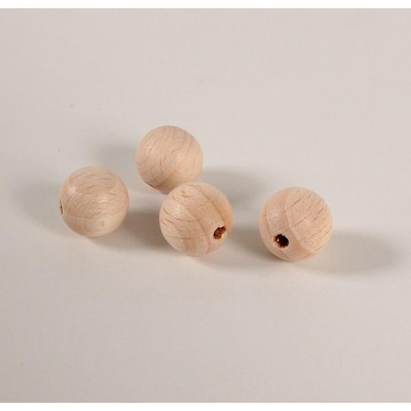 Kraal 10 mm blank - zakje 100 stuks
