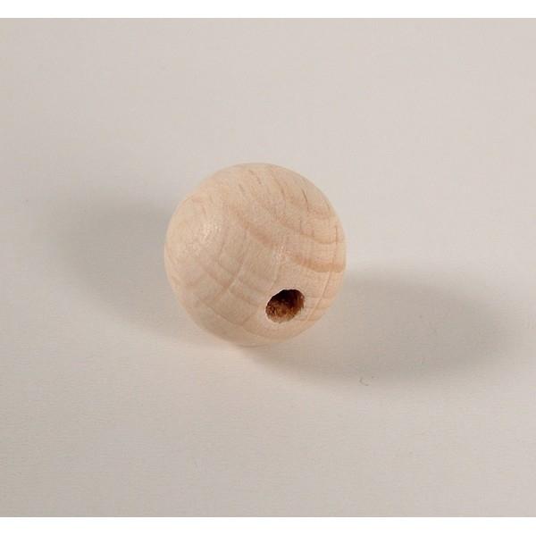 Kraal 18 mm blank - zakje 50 stuks