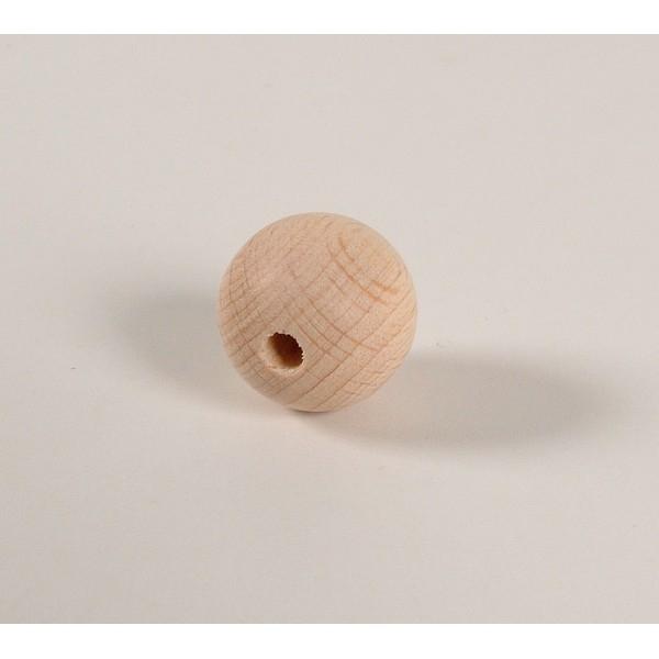 Kraal 20 mm blank - zakje 50 stuks