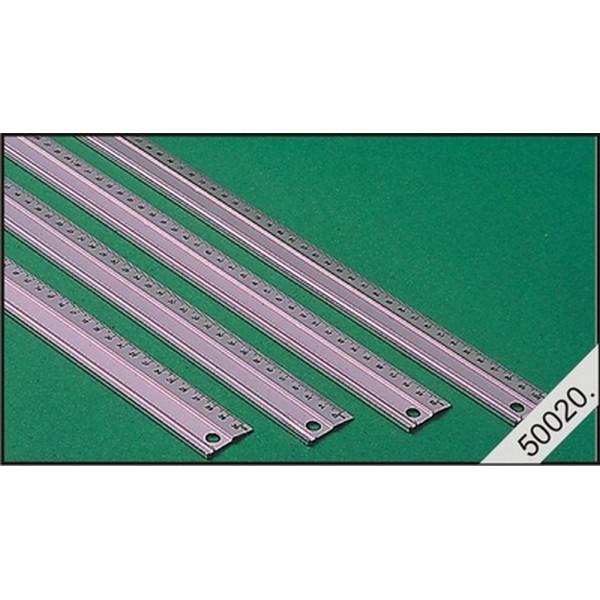 Liniaal 45 cm aluminium