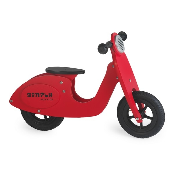 Loopscooter Rood