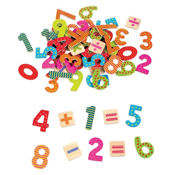 Magnetische Cijfers en Rekentekens - 60 stuks