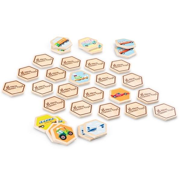Memory - Voertuigen - New Classic Toys