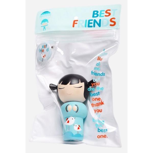 Momiji Doll - Best Friends met mini button