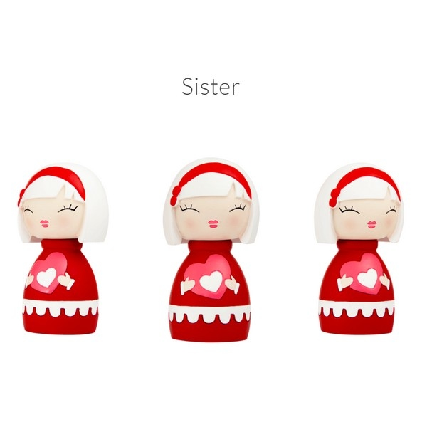 Momiji Doll - Sister met mini button