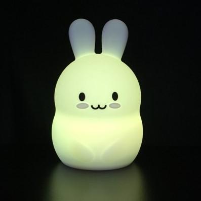 Nachtlamp Siliconen Konijn - Klein