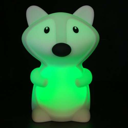 Nachtlamp Siliconen Vos - Klein, uitverkocht