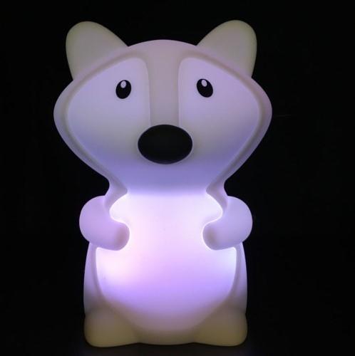 Nachtlamp Siliconen Vos - Klein
