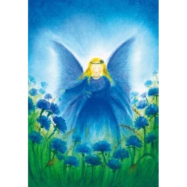 Oliepastelkaart Het Vlindervrouwtje per 10 stuks