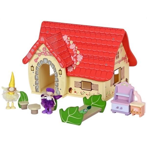 Poppenhuis sprookje inclusief accessoires, aanbieding !