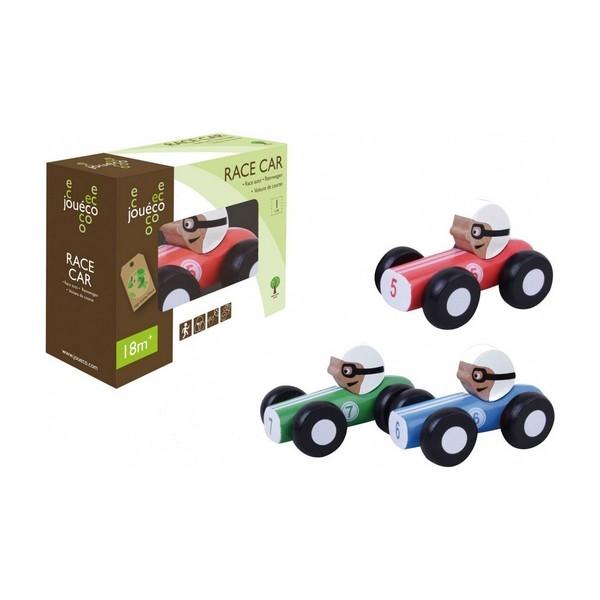 Raceauto in doos - 3 assorti - Jouéco