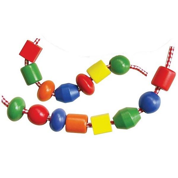 Rijgkralen Groot 30 stuks - Viga Toys