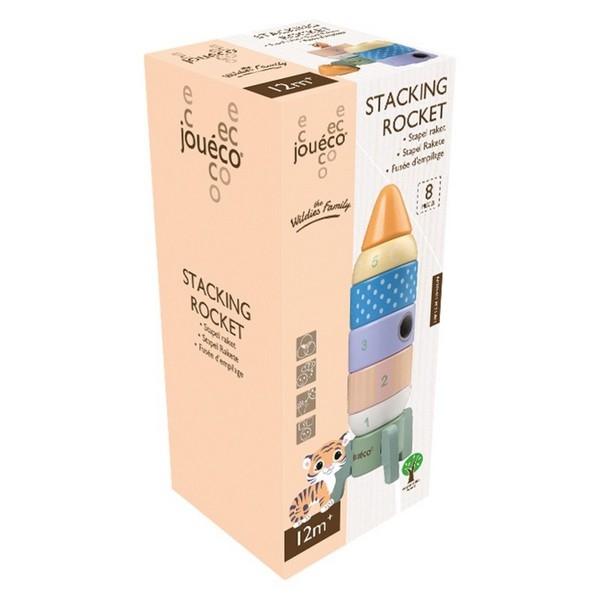 Stapel piramide raket pastel - Jouéco