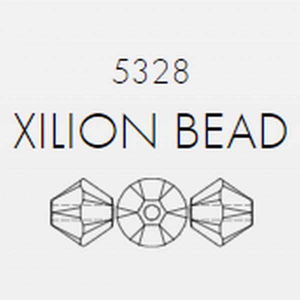 Swarovski Beads 6 mm Xilion Jet 280 zakje 100 stuks