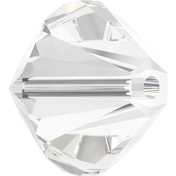 Swarovski Beads 8 mm Xilion Crystal 001 zakje 100 stuks