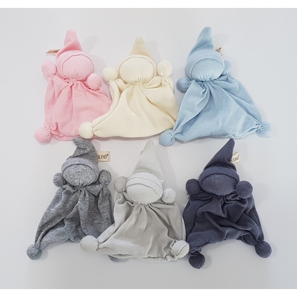 Tricot Mini-Dotje kleur Licht Blauw