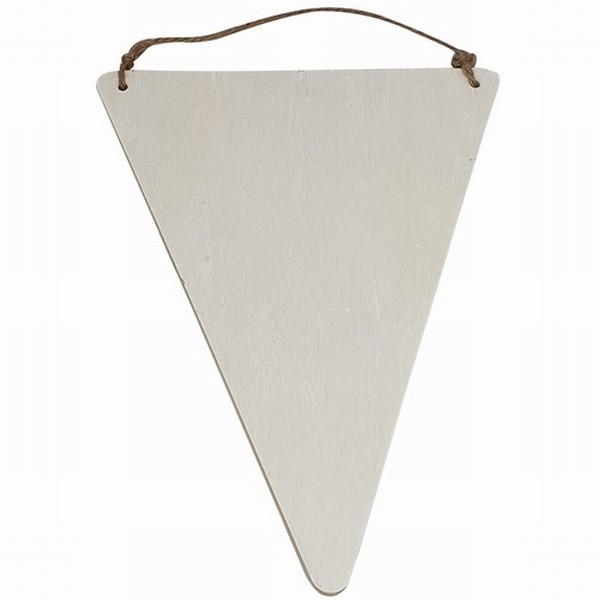 Vlag driehoek (0540) - 19,5 x 15 x 0,5 cm